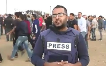 فیلم | هیچ وقت از مقابل دوربین یک خبرنگار بیاعصاب رد نشوید!