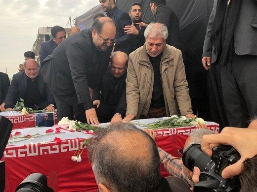 اداي احترام و تشييع مرحوم نوربخش و مرحوم تاج الدين در گرگان