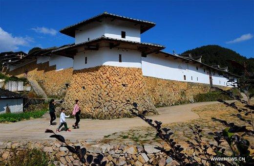 مجموعه آیجینگ ژوآنگ در استان فوجیان چین