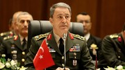 این تصویر وزیر دفاع ترکیه را به شدت عصبانی کرد/ عکس