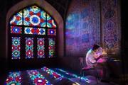تصویر ناب مسجد نصیرالملک به انتخاب نشنال جئوگرافیک
