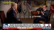 ترامپ خبرنگار سیانان را تهدید کرد
