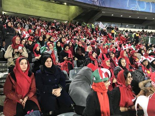 جزئیات ورود زنان به ورزشگاه آزادی در روز بازی ایران و کامبوج