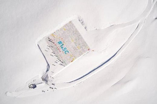 نمایش بزرگترین کارت پستال جهان در سوئیس