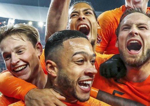 در ستایش تیم ملی هلند؛ به رنگ نارنجی