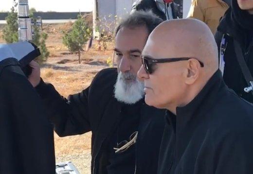 فیلم | «ژن خوک» با حضور جمشید هاشمپور کلید خورد