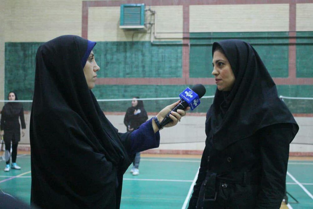 نائب قهرمانی گیلان در دور رفت مسابقات لیگ دسته یک بدمینتون بانوان کشور