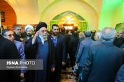 تصاویر   چهرههای سیاسی در مراسم ترحیم عبدالرحمن تاج الدین
