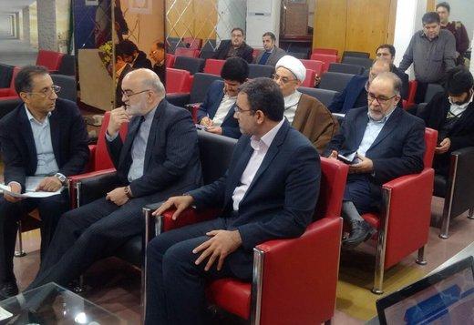 نماینده قوه قضائیه از ستاد انتخابات هیات نظارت بازدید کرد