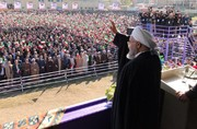 فیلم | روحانی خطاب به آمریکا: در منطقه شکست خوردهاید چرا از مردم ایران انتقام میگیرید؟