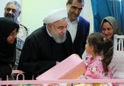 تصاویر | افتتاح بیمارستان ۲۲۵ تختخوابی خوی با حضور روحانی