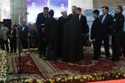 تصاویر | افتتاح ایستگاه راهآهن ارومیه توسط رییسجمهور