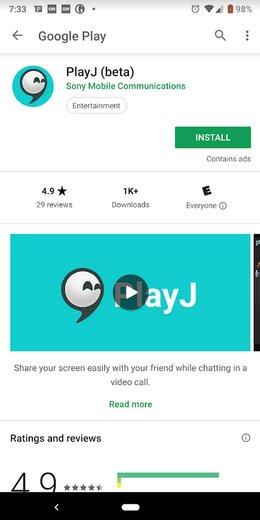 اپلیکیشن جدید سونی برای به اشتراکگذاری ویدئو و گیم با دوستان
