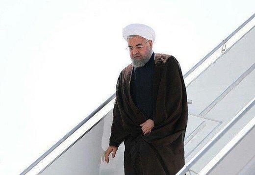 روحانی وارد شهر سوچی روسیه شد