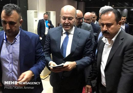 مصدر دبلوماسي: الرئيس العراقي قريبا في دمشق