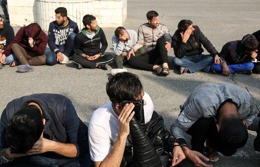 پنجمین مرحله دستگیری سارقان شهر تهران