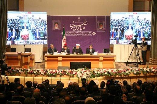 رییسجمهور ۳۵پروژه زیربنایی و اقتصادی آذربایجانغربی را افتتاح کرد