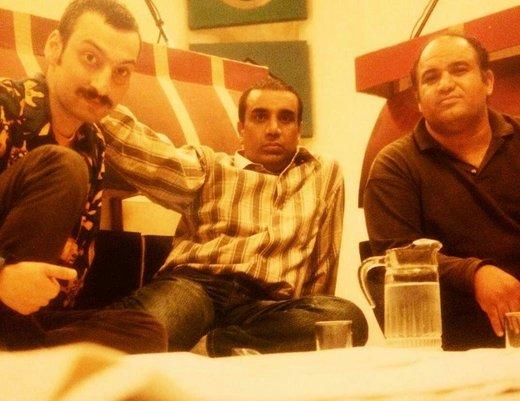 عکس خاطرهانگیز نصرالله رادش، ارژنگ امیرفضلی و نادر سلیمانی