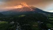 تصاویر | فوران آتشفشان گواتمالا برای پنجمین بار در یک سال