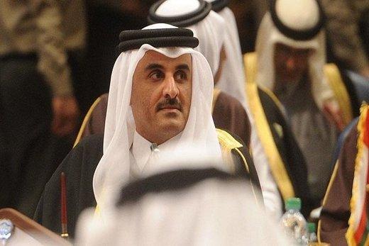 دست دوستی امیر قطر به یک کشور عربی