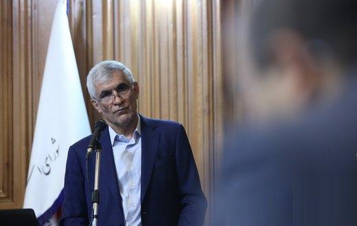 فیلم   حمله شهردار سابق تهران به رئیس مجلس