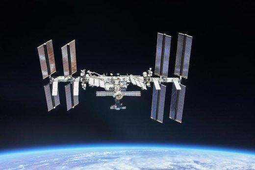 عکسی که خدمه فضاپیمای سایوز از ایستگاه فضایی بینالمللی گرفته اند