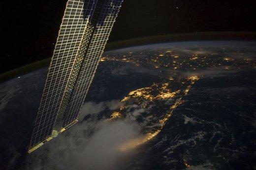 تصویری از ایالت فلوریدا تا لوئیزیانا آمریکا