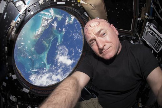 فضانورد ناسا در ایستگاه فضایی بینالمللی