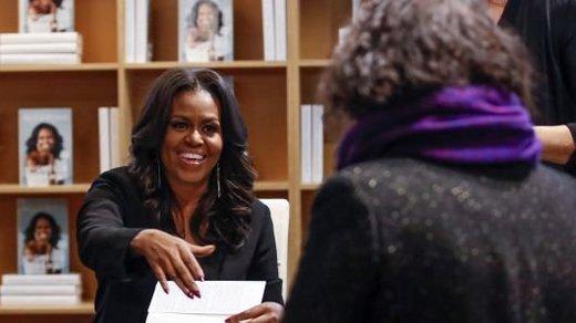 کتاب میشل اوباما در فروش رکورد زد