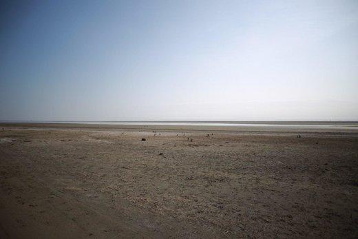 خطر تشکیل یک کانون ریزگرد در گلستان؛ تالاب بزرگ شمال کشور در مسیر خشکی