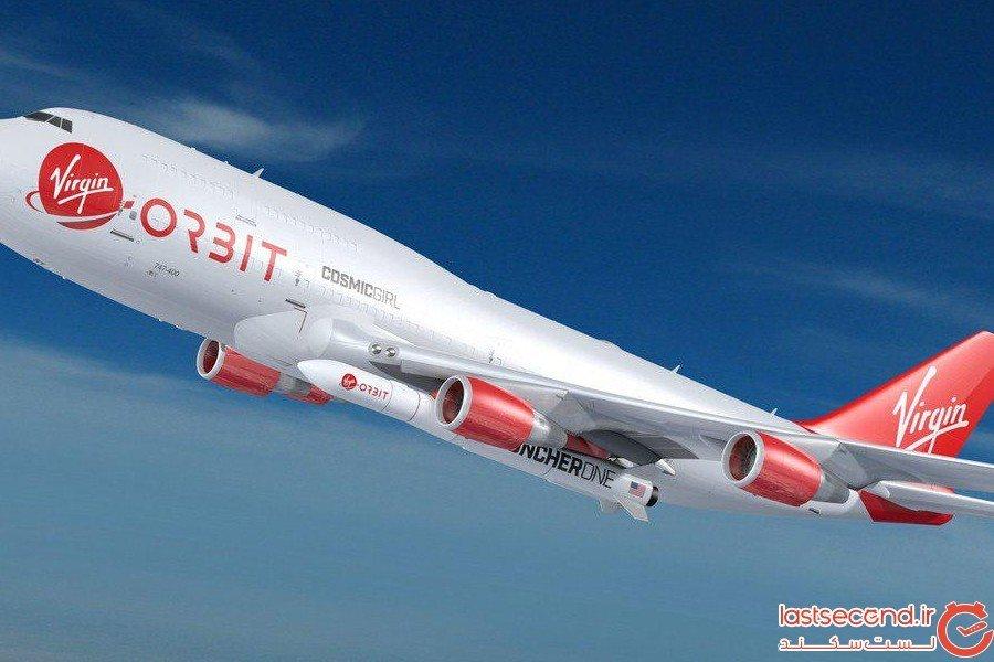 اتصال موشک فضایی به بوئینک 747 برای اولین بار