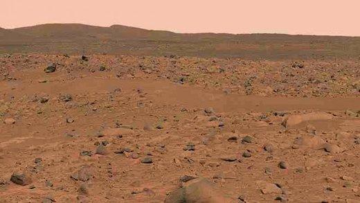 سطح مریخ