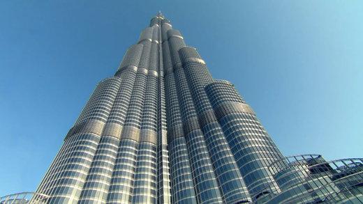 برج خلیفه در شهر دبی امارات