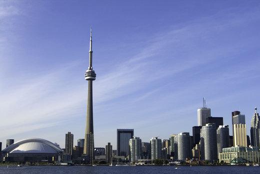 برج سی ان در شهر تورنتو  کانادا