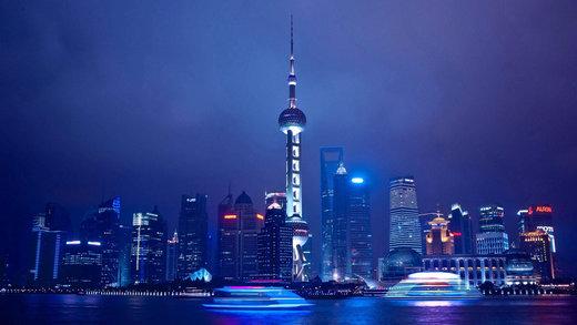برج مروارید خاور در شهر شانگهای چین
