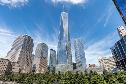 مرکز تجارت جهانی یک در شهر نیویورک آمریکا