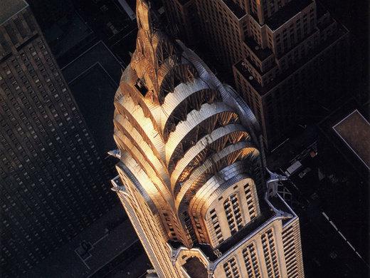 ساختمان کرایسلر در شهر نیویورک آمریکا