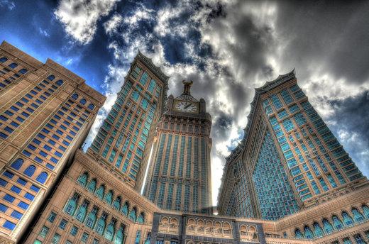 ابراج البیت مجموعهای در شهر مکه عربستان سعودی