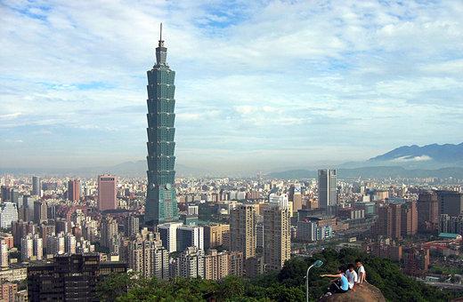 برج تایپه ۱۰۱ در شهر تایپه تایوان