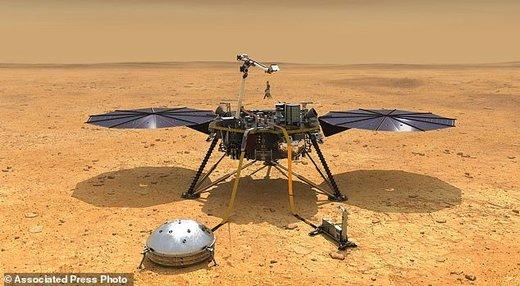 «اینسایت» آماده فرود بر سطح مریخ