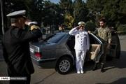 محافظ شخصی فرمانده نیروی دریایی ارتش/ عکس