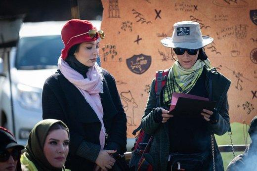 فیلم | عربی یاد گرفتن نیوشا ضیغمی از بازیگر مطرح لبنانی