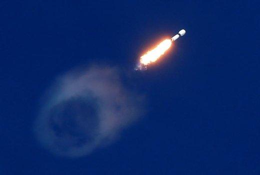 ماهواره مخابراتی قطر با استفاده از راکت فالکن ۹ از پایگاه فضایی جانافکندی در فلوریدای آمریکا به مدار زمین ارسال شد