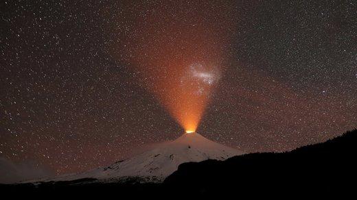 آتشفشان ویلاریکا در شیلی