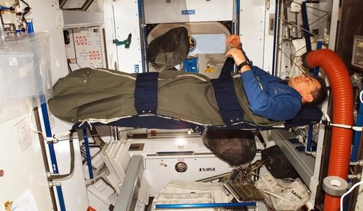 به یاد آوردن خوابها در ایستگاه فضایی بینالمللی بسیار سخت است