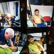 حمله هواداران ریورپلاته به اتوبوس بوکا؛فینال لیبرتادورس به تعویق افتاد