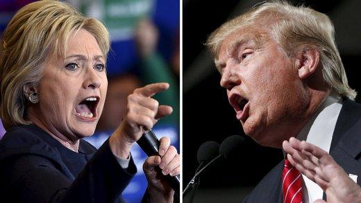 حمله کلینتون به ترامپ به خاطر رفتار بد با رسانهها