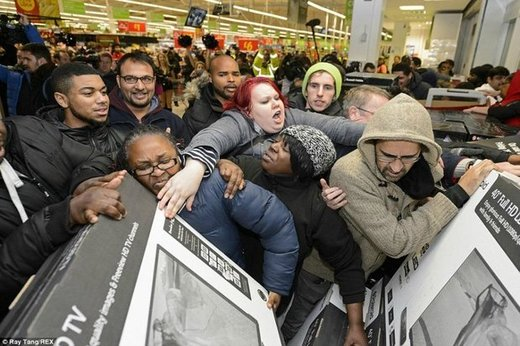 آمریکاییها در جمعه سیاه چقدر کالا خریدند؟