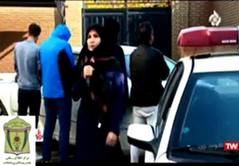 فیلم   سرقت آزرا از یک خانم در پوشش خریدار