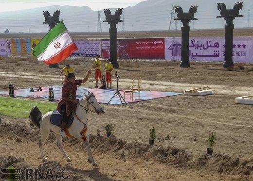 ایران قهرمان پیکارهای جهانی رزم سواره شد